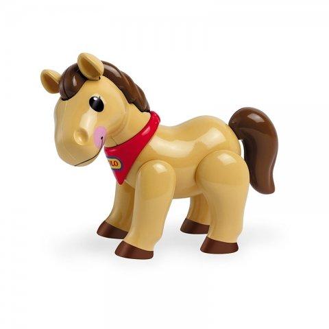 اسباب بازی اسب قهوه ای تولو tolo کد 87453