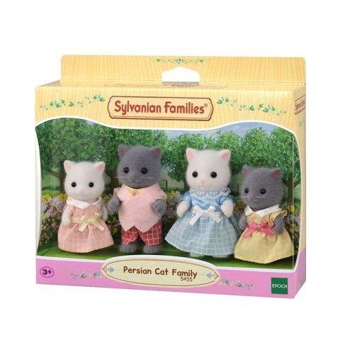 خانواده گربه پرشین سیلوانیان فامیلیز sylvanian families 5455