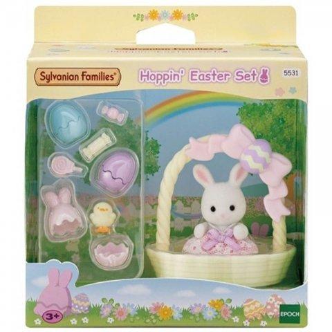 ست خرگوش و سبد سیلوانیان فامیلیز sylvanian families کد 5531