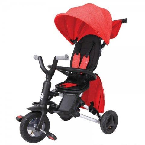 سه چرخه کودک تاشو مدل Nova plus رنگ قرمز