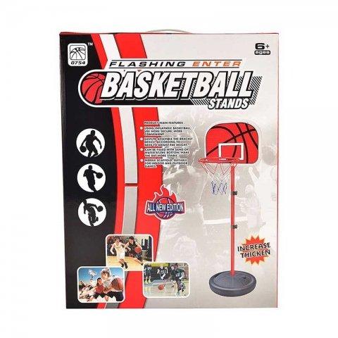 حلقه بسکتبال کودک با پایه فلزی کد 0754901B
