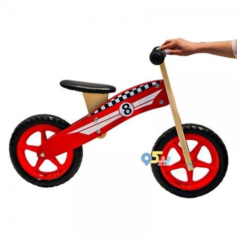 دوچرخه تعادلی چوبی کودک کد 00019