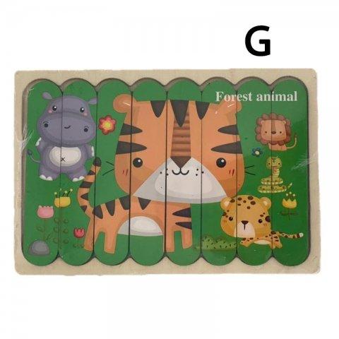 پازل چوبی جاگذاری کد 3866284