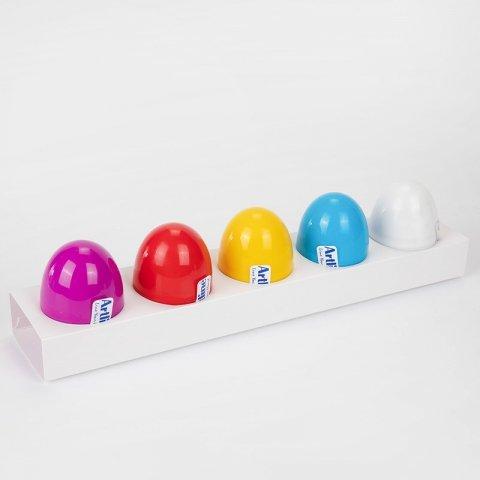 خمیر بازی تخم مرغی 5 عددی کد  801E5