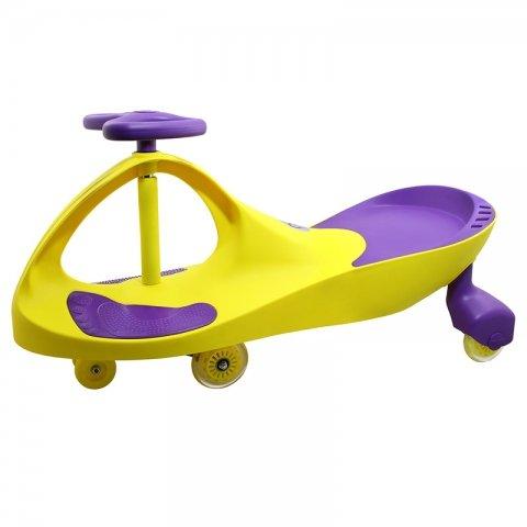 سه چرخه لوپ کار چرخ ژله ای زرد بنفش PSA2578