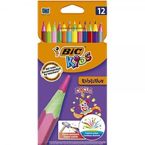 مداد رنگی 12 رنگ بیک BIC کد 2064