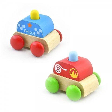 اسباب بازی ماشین چوبی موزیکال کد BZ-39-A