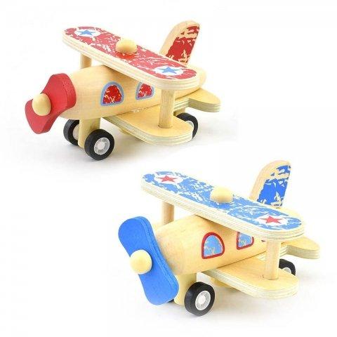 اسباب بازی هواپیمای ملخی عقب کش کد BZ-01-F