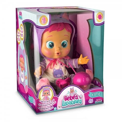 عروسک دخترانه کیتی گریان imc toys مدل 95939