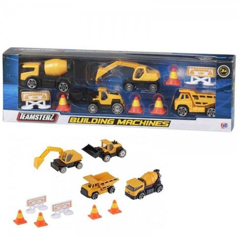 ست ماشین اسباب بازی راهسازی کد 1373623v19