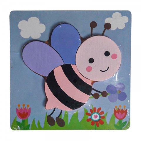 پازل چوبی طرح زنبور کد 3885525