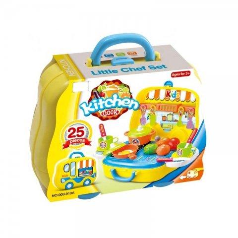 ست آشپزخانه کیفی کودک مدل 008919