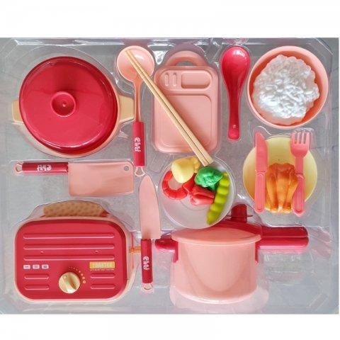 اسباب بازی وسایل آشپزخانه با زودپز و توستر مدل WY4043