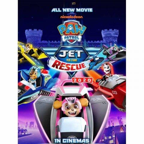 دی وی دی سگ های نگهبان Pawpatrol Jet DVD