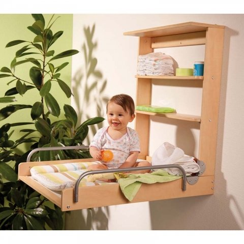 میز تعویض پوشک کودک دیواری ربا roba کد 26015V97