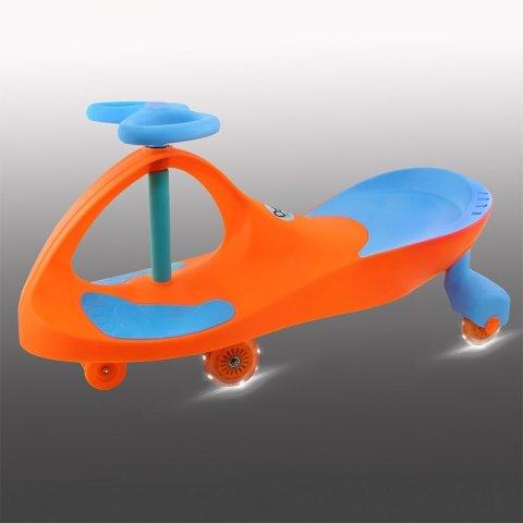 سه چرخه لوپ کار چرخ ژله ای چراغدار نارنجی آبی کد PCH1939