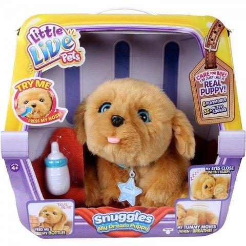 اسباب بازی سگ رباتیک پشمالو snuggles کد 28185