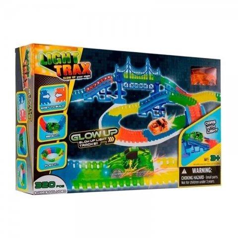 اسباب بازی ریسینگ 320 تکه با ماشین کد 430020
