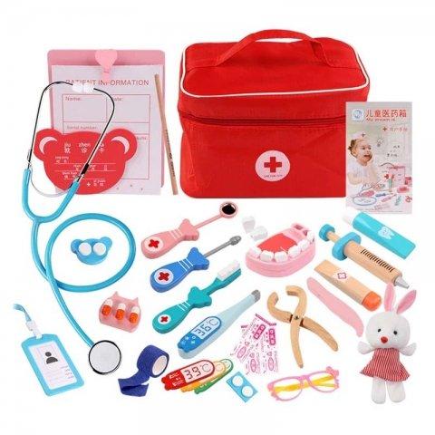 اسباب بازی چوبی ست دندانپزشکی کد 3900475