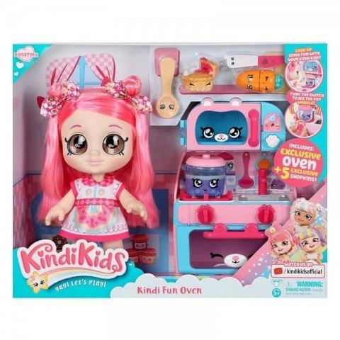 عروسک کیندی کیدز با وسایل آشپزخانه kindikids کد 50049