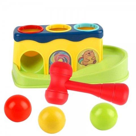 اسباب بازی چکش و توپ کد HE0290