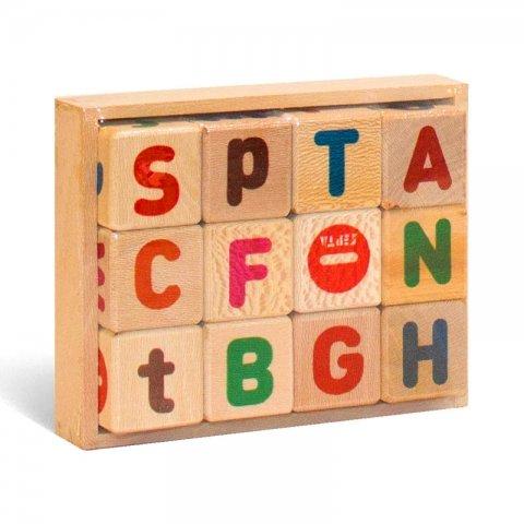 بازی آموزشی مکعب حروف و اعداد انگلیسی کد 90013