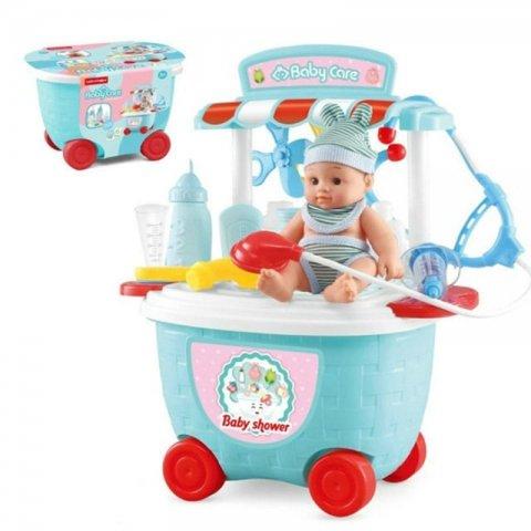 اسباب بازی مراقبت از نوزاد مدل سطلی کد 5C502