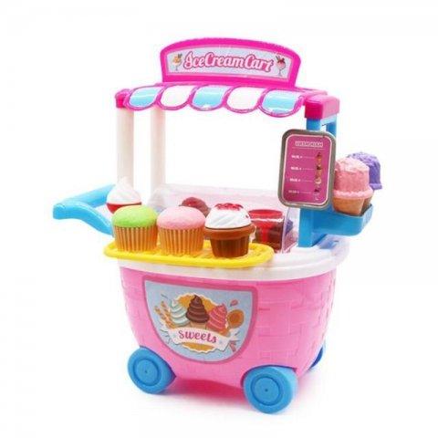 اسباب بازی بستنی فروشی مدل سطلی کد 5C509