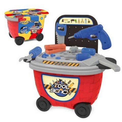 اسباب بازی ست ابزار مدل سطلی کد 5C510