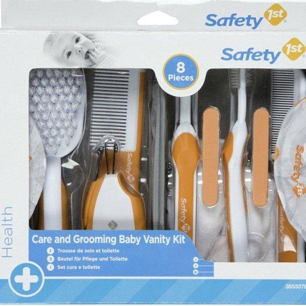 ست لوازم آرایشی 8 تکه نارنجی  safety 38533760