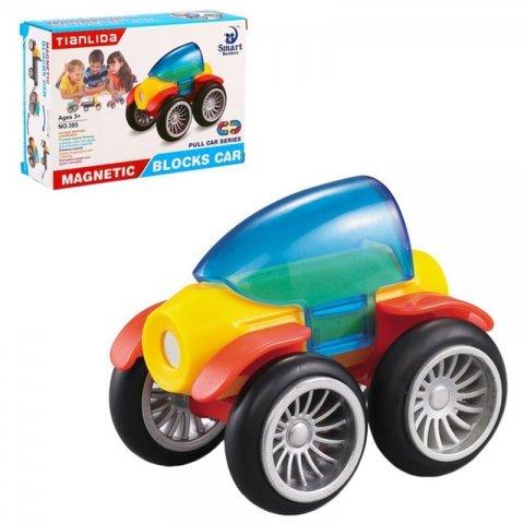 اسباب بازی مگنتی مدل ماشین 5 تکه کد 385