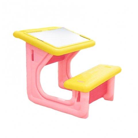 میز تحریر کودک رنگ صورتی کد 108