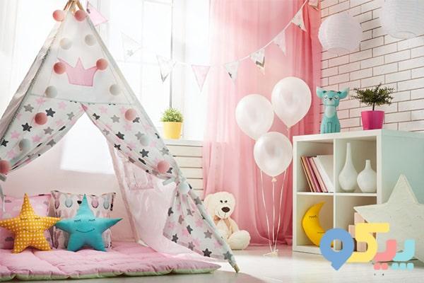 12 ایده تزیین اتاق کودک دختر و پسر + تصویر
