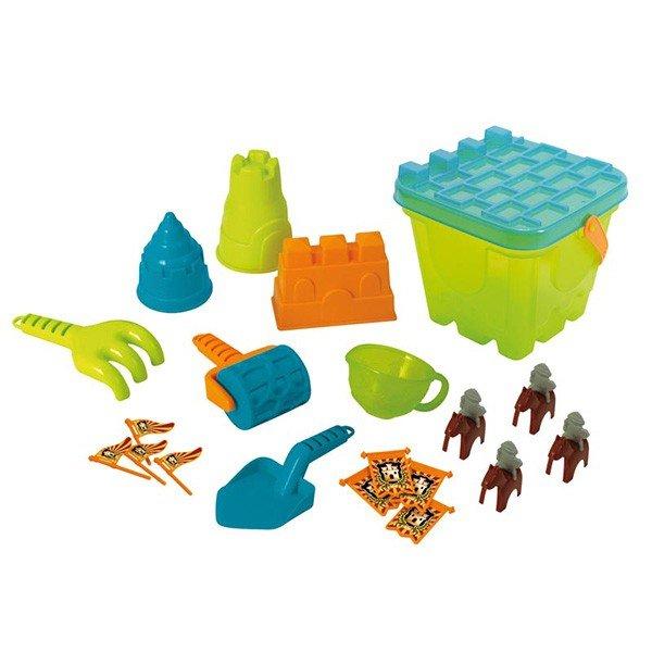 مجموعه وسایل ساخت قلعه شنی playgo مدل 5445
