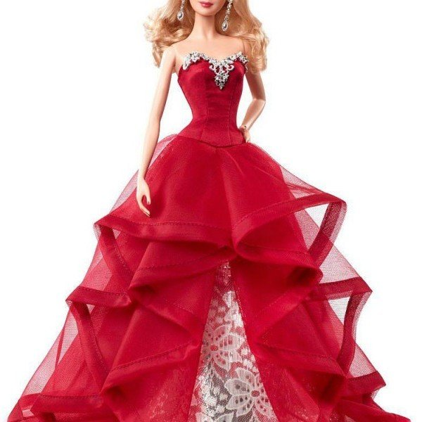 عروسک با لباس قرمز barbie کد chr76