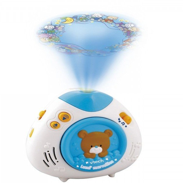 چراغ خواب موزیکال اتاق کودک تدی vtech مدل 100003