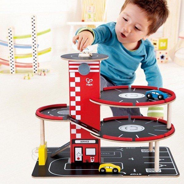 پارکینگ طبقاتی کودک برند RaceAround Parking Garage hape کد 3022