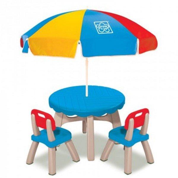 میز و صندلی چتر دار  grow'n up 30172