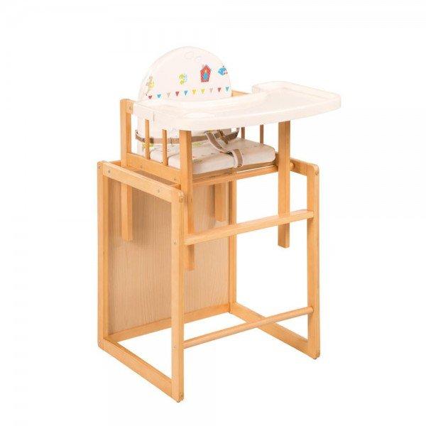 صندلی غذاخوری مدل roba 7519f150 (دارای سینی پلاستیکی)
