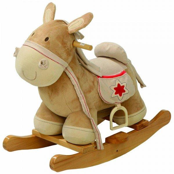 راکر چوبی اسب مدل roba 69028