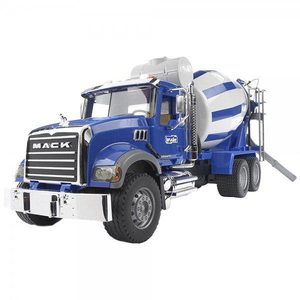 ماشين میکسر بتن ماک Bruder مدل Mack Cement Mixer 02814
