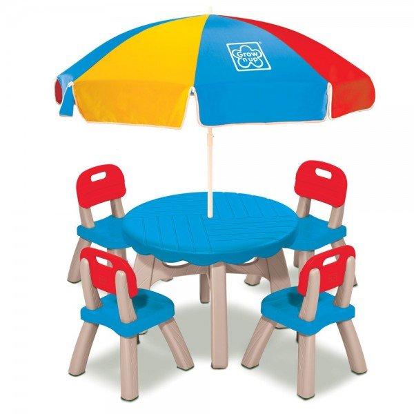 میز و صندلی چتر دار مدل grow'n up 30171