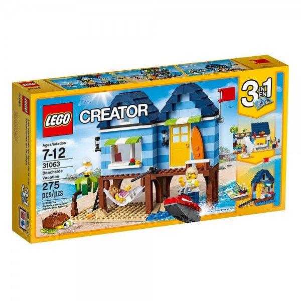 لگو سری Creator مدل Beachside Vacation 31063