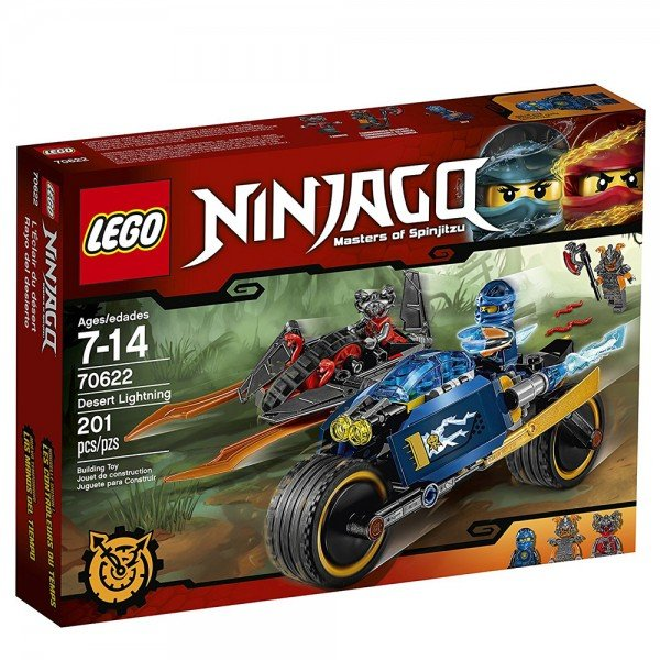 لگو سری Ninjago مدل Desert Lightning lego 70622