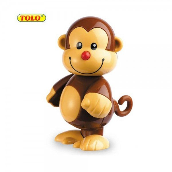 عروسک نشکن میمون tolo 86592