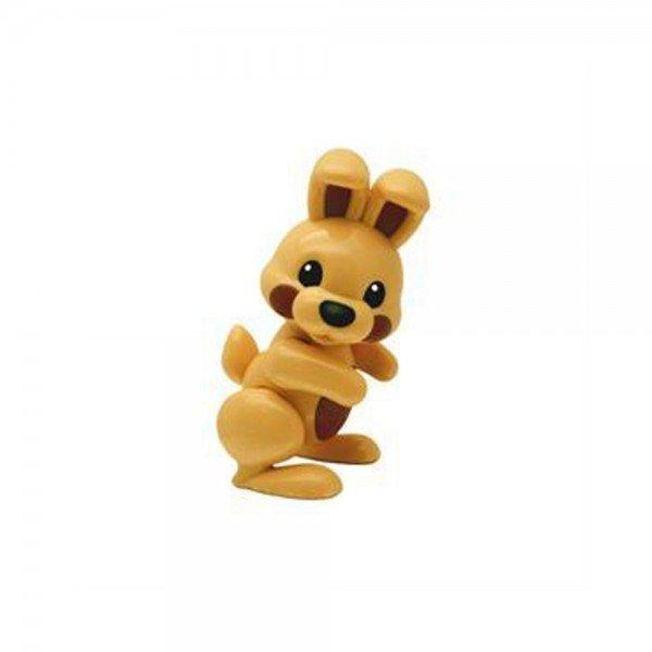 عروسک نشکن خرگوش قهوه ای tolo 89718