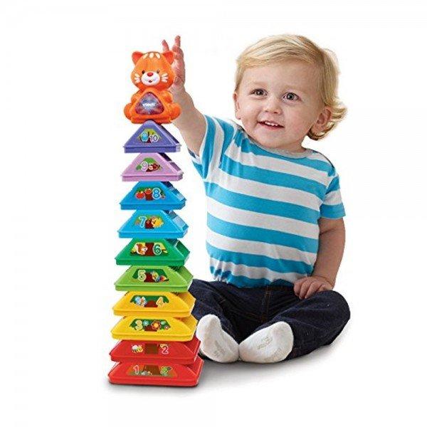 برج موزیکال وی تک stack،sort،store tree vtech 185003