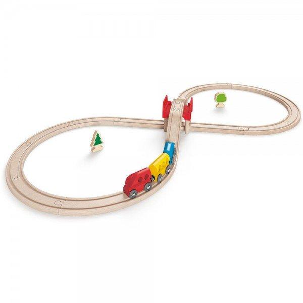 ریل قطار کودک 3700 FIGURE EIGHT RAILWAY SET hape