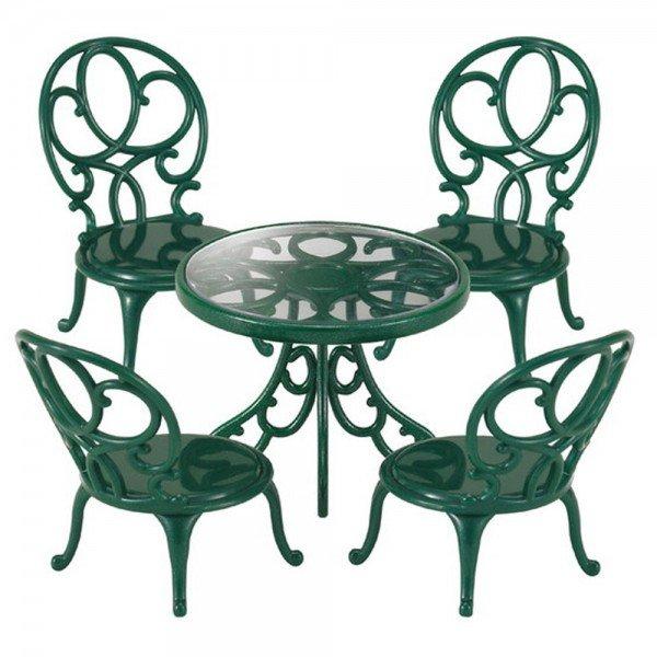 میز و صندلی فرفورژه سیلوانیان فامیلیز 4507 sylvanian families