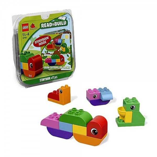 لگو سری duplo مدل Grow Caterpillar Grow 6758